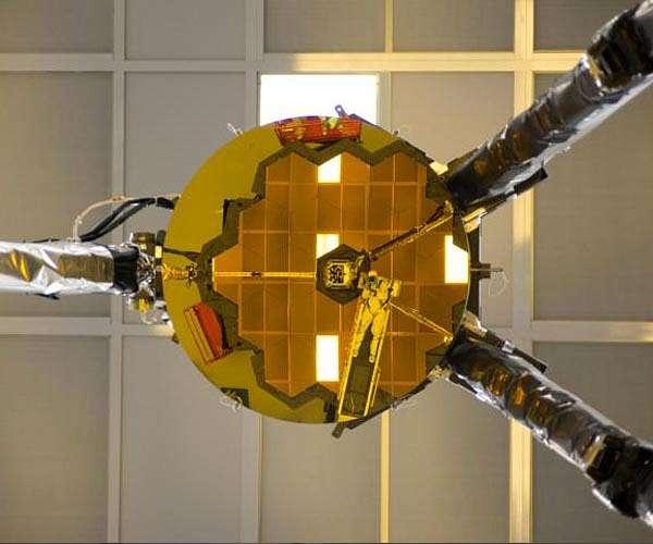 آزمون آینه ثانویه تلسکوپ فضایی جیمز وب