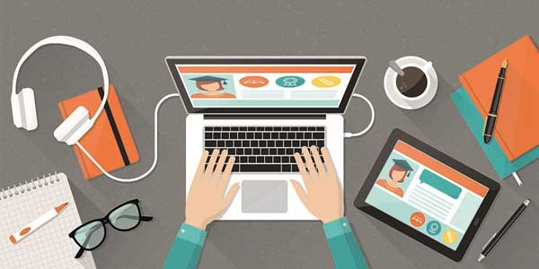 آموزش برخط اینترنتی (آنلاین)