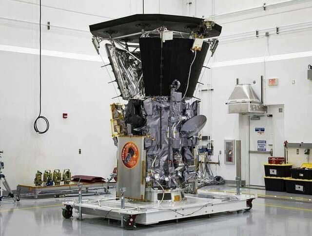 کاوشگر پارکر در کارگاه ساخت ناسا