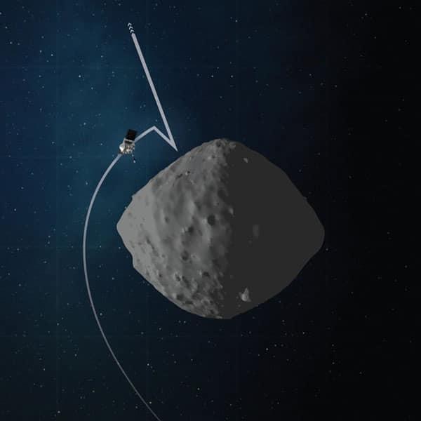 تمرین فضاپیمای اُزیریس-رک برای فرود روی سیارک بنو