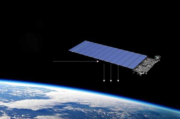 کاهش انعکاس نور ناشی از ماهوارههای استارلینک