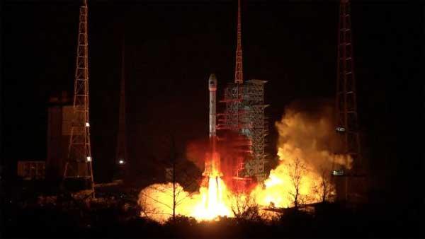 پرتاب ناموفق لانگ مارچ 3B چین
