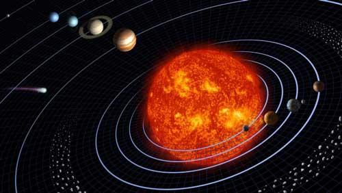تولد منظومه شمسی