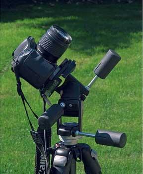 دوربین مستقر روی سهپایه