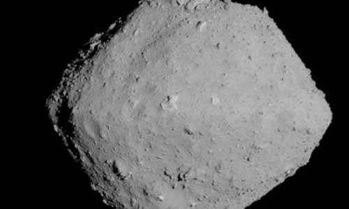 سیارک ریوگو از فاصله 20 کیلومتری