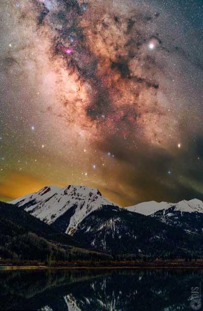 عکاسی نجومی با ردیاب ستارهای