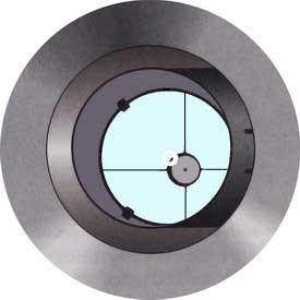 وقتی هیچکدام از آینهها همخط نیستند در همخطسازی آسان تلسکوپ