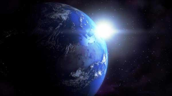 اقیانوس زمین آب شهاب سنگ