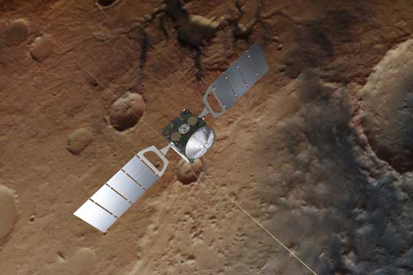 مارس اکسپرس مریخ آب