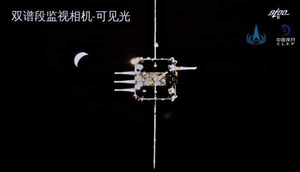 اتصال فضاپیما ماه چانگئه-5