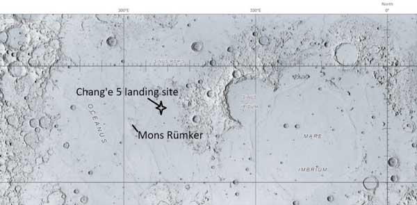 نقشه محل فرود چانگئه-5