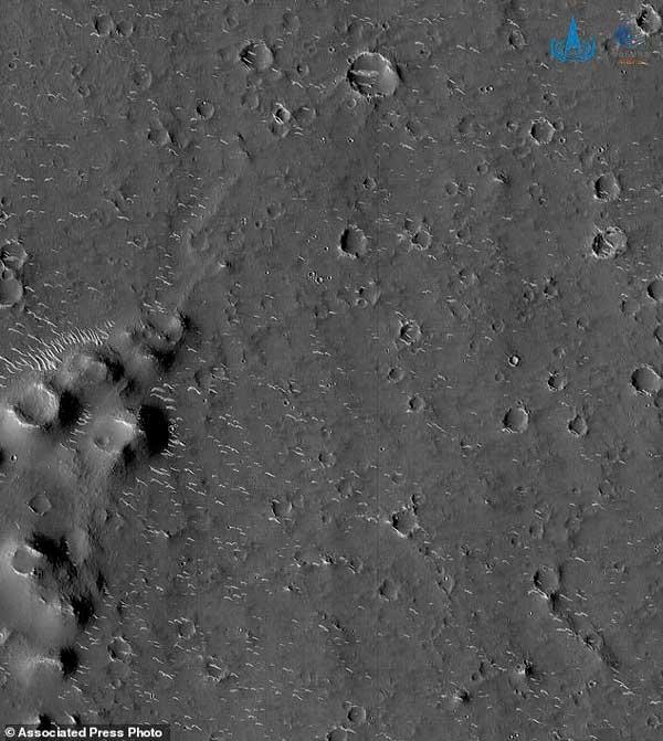 عکس مریخ چین تیانون-1