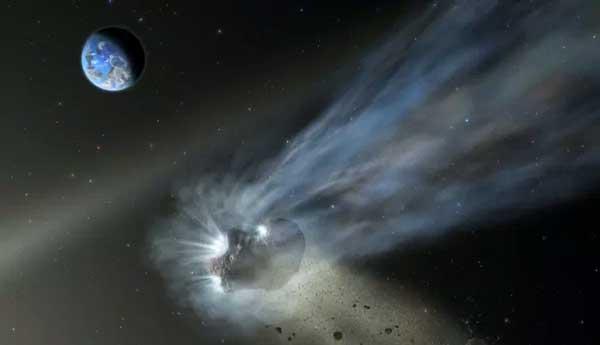 منشا دنبالهدار کاتالینا
