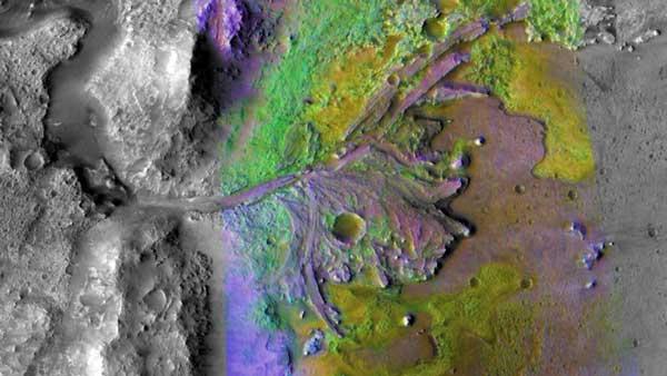 مریخ آب گرما زندگی حیات