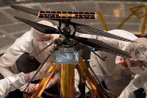آزمایش بالگرد نبوغ مریخ
