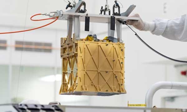 ابزار MOXIE مریخ پشتکار اکسیژن
