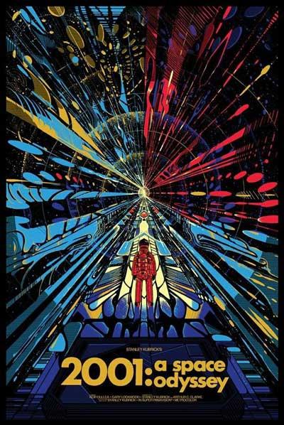 پوستر ادیسه فضایی 2001