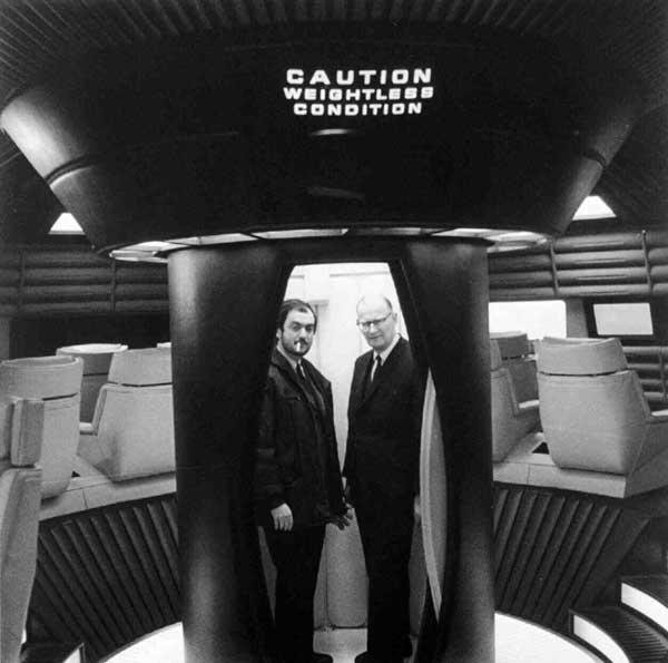 کلالرک کوبریک ادیسه فضایی 2001