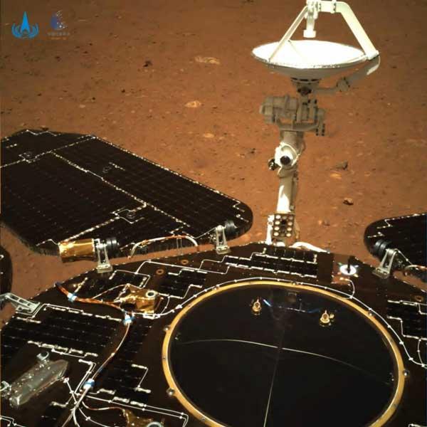 مریخ چین ژورونگ تیانون-1