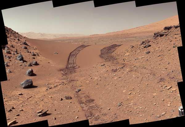 مریخ نمک کنجکاوی
