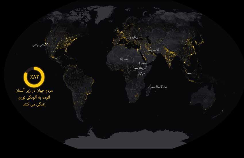 جهان در شب