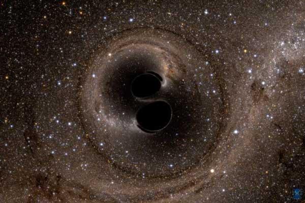 ادغام دو سیاهچاله GW150914