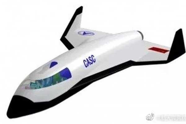 فضاپیمای رفت و برگشتی چین